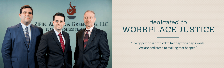 Maryland Employment Lawyers | Zipin, Amster & Greenberg